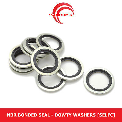 £21.21 • Buy NBR Dowty Bonded Seal 3/4  BSP -Dowty Washers Self Centralising Metal And Rubber