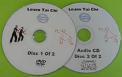 Learn Tai Chi DVD Beginners Relaxation Exercise Health Fitness & Free Audio CD • 1.49£