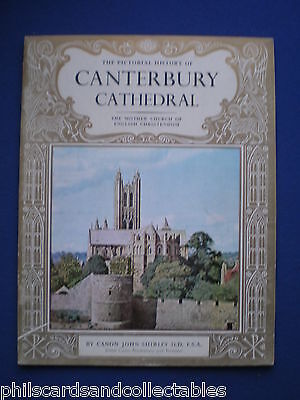 Canterbury Cathedral Guide Book - C1965  Pitkin Books • 4.95£