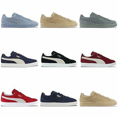 AU110.67 • Buy Puma Suede Classic Trainers - Black, Burgundy, Blue Fog, Red And Many More