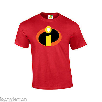 Teacher Gift , Mr Incredible / The Incredibles Super Hero T Shirt Fancy Dress • 9.99£