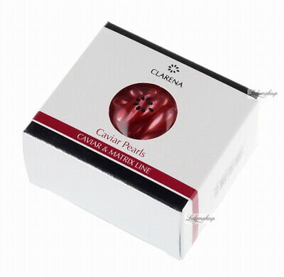 CLARENA CAVIAR PEARLS With LUXURY GEL FOR CARE OF MATURE SKIN / 30PCS • 13.99£