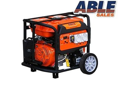 AU1130 • Buy 7 KVA MAX 8 KVA GENERATOR PETROL RATED 240V TRADE SPEC (FREIGHT FREE)