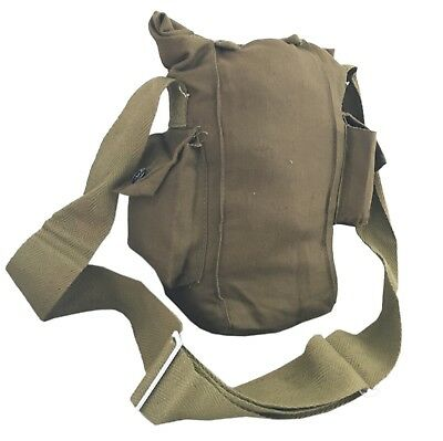 £4.99 • Buy USSR Soviet Russian Red Army Military Gas Mask Messenger Khaki Green Bag