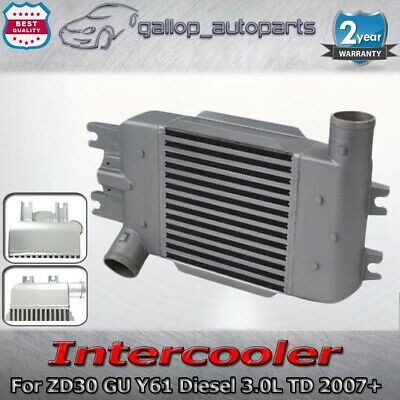 AU185.25 • Buy Intercooler For Nissan 07-ON Patrol GU Y61 ZD30 Turbo Diesel Upgrade Direct Fit