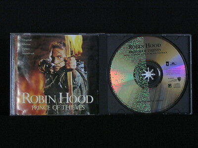 Robin Hood Prince Of Thieves. Film Soundtrack. Compact Disc. 1991 Australia Made • 8.47£