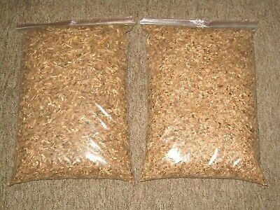 2 X 10l Of 100% NATURAL BEST QUALITY SMOKING WOOD CHIPS For BBQ & FOOD SMOKERS • 29£