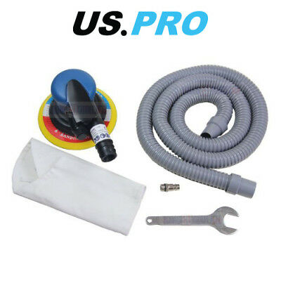 £33.80 • Buy US PRO Tools 6  150mm Air Dust Free DA Orbital Palm Sander With Dust Extractor