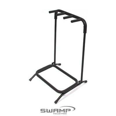 AU46.99 • Buy SWAMP Multi Guitar Stand - 3 Space - Folds Flat For Easy Transport!