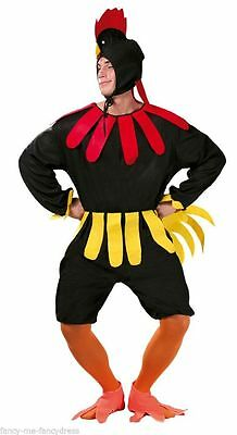 Mens Very Silly Chicken Costume Rooster Stag Night Bird Fancy Dress Outfit New  • 17.99£
