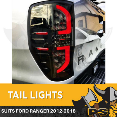 AU239 • Buy Black 3D LED Tail Lights For 2011-2020 Ford Ranger PX1 PX2 PX3  XLT XLS WILDTRAK