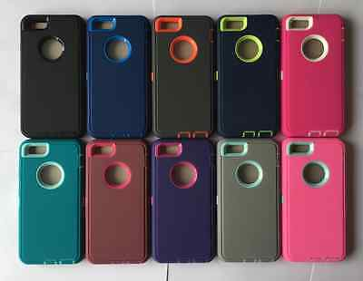 AU13.54 • Buy NEW! Heavy Duty Protective Shock Proof Case For IPhone 6 6S 7 8 X & 6/7/8 PLUS