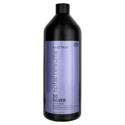£15.65 • Buy Matrix Total Results So Silver Color Obsessed Shampoo 33.8 Oz