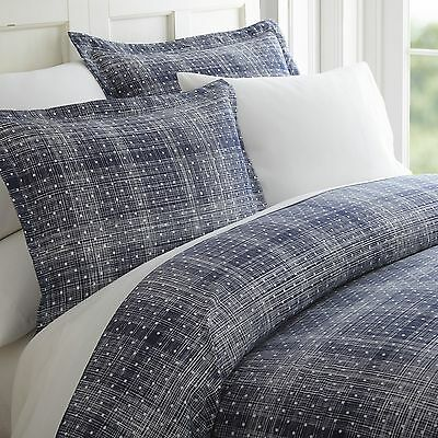 $25.99 • Buy Hotel Quality 3 Piece Polka Dot Patterned Duvet Cover Set - 4 Beautiful Colors!