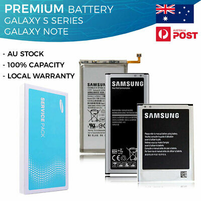 AU16.99 • Buy Battery Replacement For Samsung Galaxy S4 S5 S6 S7 S8 S9 Plus Edge Note 2 3 4 5