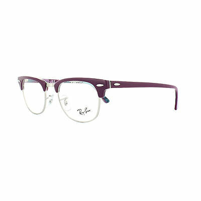 063ad314c1 Ray-Ban Glasses Frames 5154 Clubmaster 5652 Violet Texture Camouflage •  105.00