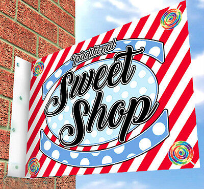 Sweet Shop Wall SIGN, For Traditional Sweets Shop, SHOP FRONT, Shop Sign • 49£