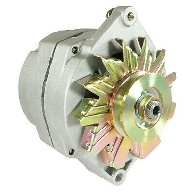 $ CDN86.58 • Buy NEW ALTERNATOR For 10SI DELCO 1-WIRE 63 AMP With Tach R-Terminal Stud On Rear