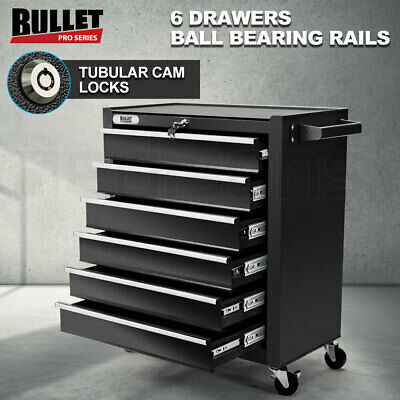 AU207 • Buy 【EXTRA15%OFF】BULLET 6 Drawer Tool Box Cabinet Trolley Garage Toolbox Storage