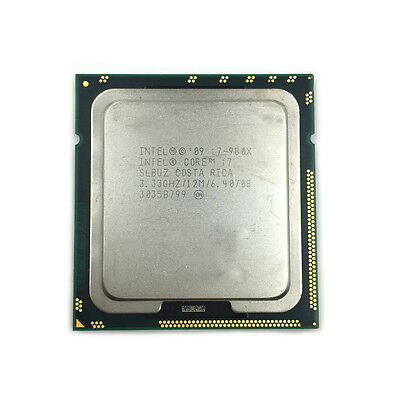 $ CDN126.84 • Buy Intel Core I7-980X Extreme Edition SLBUZ Six Core 3.33 GHz Socket B LGA1366 CPU