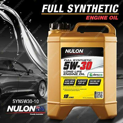 AU99.95 • Buy Nulon Full Synthetic 5W-30 Long Life Engine Oil 10L SYN5W30-10 10 Litres