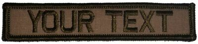 $6.99 • Buy 1x5 Custom Military / Police Name Tape / Text Patch