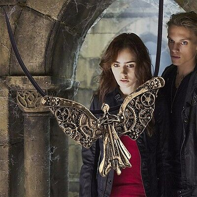 The Mortal Instruments Vintage City Of Bones Rope Leather Necklace The Infernal • 11.57£
