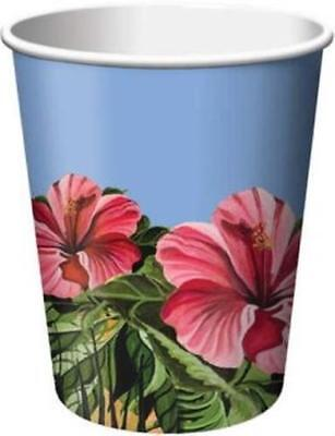 Polynesian Party 9 Oz Hot/Cold Cups 8 Pack Hawaiian Luau Party  • 1.28£