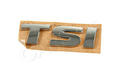 Genuine VW Touareg 2011- FSI Rear Nameplate Label Badge Emblem • 38.36£