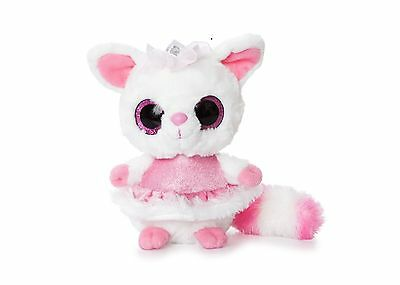 YooHoo And Friends 5  Pammee Fennec Fox Princess Pink Cuddly Soft Toy AURORA • 4.95£