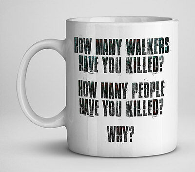 £9 • Buy The Walking Dead Mug, 3 Questions - Gift, Collectible, Tv