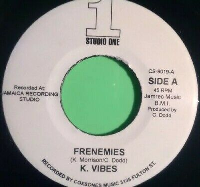 Studio One ( Rare ) Frenemies / Version K Vibes  • 24.95£