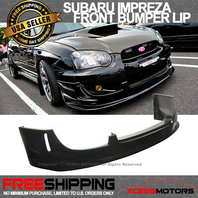 $220.99 • Buy For 04-05 Subaru Impreza WRX Front Bumper Lip