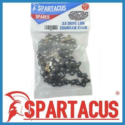 £16.49 • Buy Spartacus 40cm Chainsaw Replacement Chain 55 Drive Link For Various Models SP067