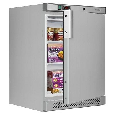 £579 • Buy STAINLESS STEEL CATERING COMMERCIAL  UNDERCOUNTER FREEZER TEFCOLD @ £482+Vat
