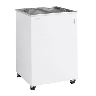 Tefcold Ic100sc Ice Cream Bike Small Mobile Display Chest Freezer Free Delivery! • 475£