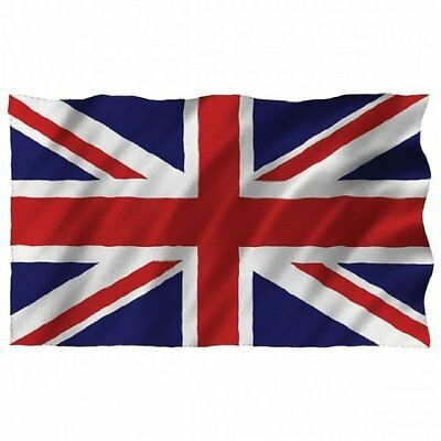 3ft X 2ft Union Jack British Flags Great Britain Union UK 100% Polyester Flags • 4.75£