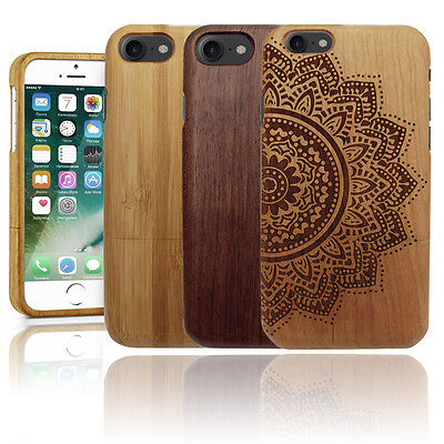 Luxury Natural Wooden Hard Wood Phone Case Cover Shell For Apple IPhone  • 7.95£