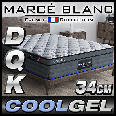 AU499 • Buy Queen King Double Mattress Size - CoolGEL Memory - Pocket Spring - 34cm