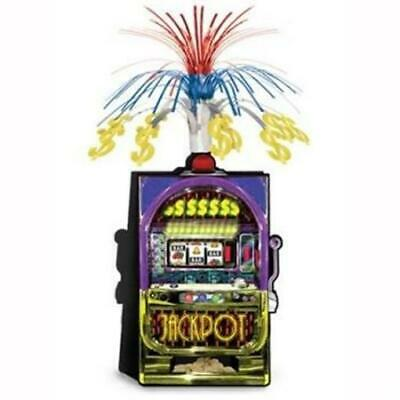 $3.99 • Buy Slot Machine Jackpot Centerpiece Casino Vegas Gambling Party Table Decoration