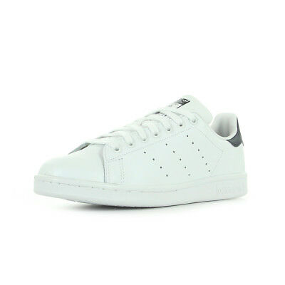 18595352db12d Chaussures Baskets Adidas Homme Stan Smith Taille Blanc Blanche Cuir Lacets  • 89.99€