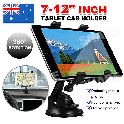 AU13.95 • Buy Car Windscreen Suction Mount Holder For IPad Mini Pro Samsung Tablet PC 7-12