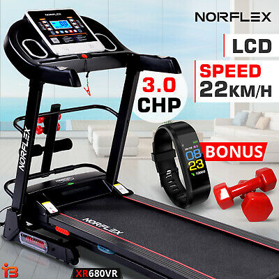 AU529 • Buy NEW NORFLEX 3.0P Treadmill Home Gym Exercise Machine Fitness Tracker Equipment