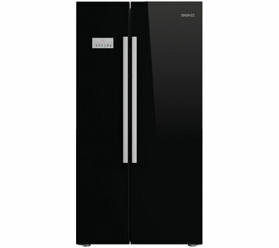 View Details BEKO ASL141B American-Style Fridge Freezer - Black - Currys • 649.00£