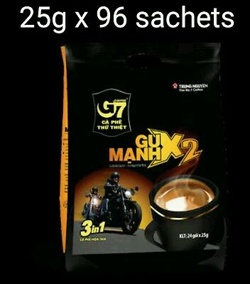 AU69.99 • Buy 25g X 96 Sachets Vietnam Trung Nguyen G7 STRONG X2 Instant Coffee 3in1 Coffeemix