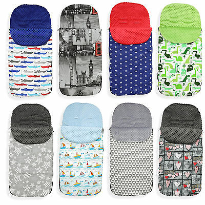Universal Toddler Stroller Cosytoes Liner Buggy Padded Footmuff XXL Tall & Wide! • 19.99£