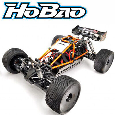 HoBao Racing 1/8 Scale Hyper SS Cage Brushless Truggy RTR W/ Orange Cage / Radio • 361.20£