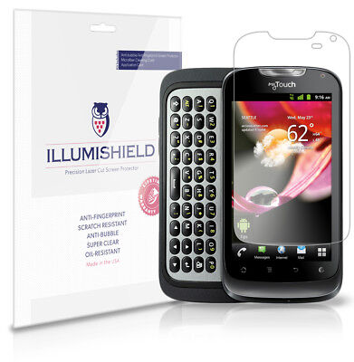 ILLumiShield Anti-Bubble/Print Screen Protector 3x For T-Mobile MyTouch Q 2012 • 5.54£