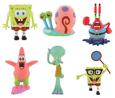 Bullyland Comansi Official Spongebob Squarepants Toy Figure Cake Topper Toppers • 5.95£