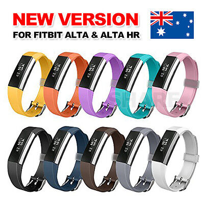 AU3.95 • Buy Wireless  Replacement Band Bracelet Wristband Large Small For Fitbit Alta HR AU
